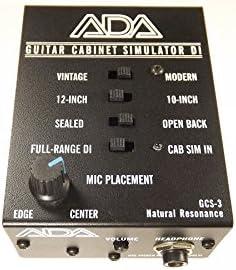 Ada gcs-3 guitarra simulador de armario & Di cajas: Amazon.es ...
