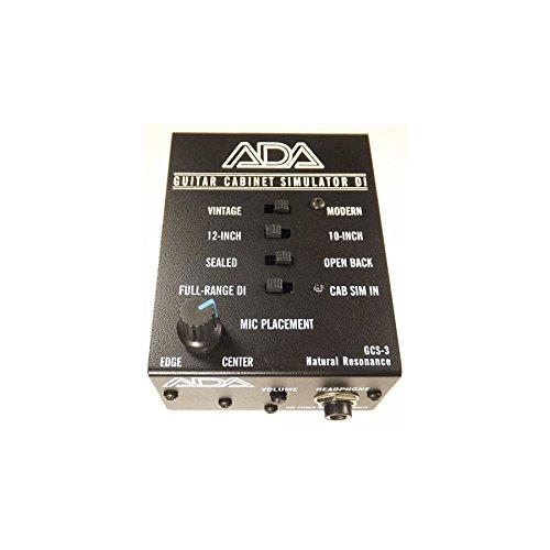 ADA GCS-3 Guitar Cabinet Simulator & DI Boxes by ADA
