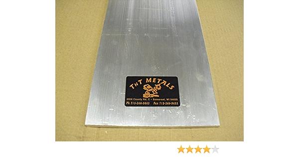1//4 x 6 x 12 long AL Aluminum Flat Bar Sheet Plate 6061 Mill Finish