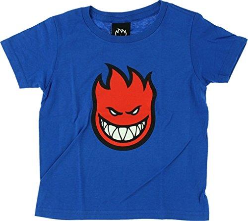 Spitfire Wheels Bighead Fill Toddler Royal / Red Toddler T-Shirt - 3T