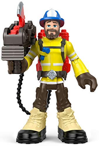 Fisher-Price Rescue Heroes Forrest Fuego, 6-Inch Figure with Accessories