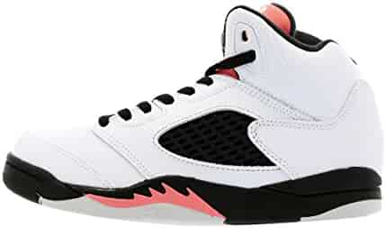 4acedea580d9 Nike Air Jordan 5 Retro (PS) Girls Basketball Shoes 440893-067