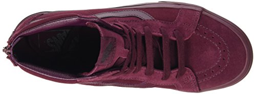Vans Unisex-erwachsene Sk8-hi Riedizione Zip High-top Rot (mono Port Royale)