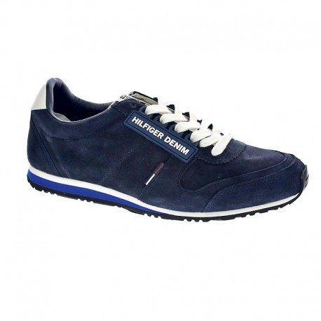 Tommy Hilfiger Hombre Em56821678ink Zapatillas de Gimnasia azul Size: 40: Amazon.es: Zapatos y complementos