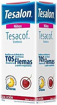 Tesacof Infantil Solución, 80 mg, 1 ml, Rojo