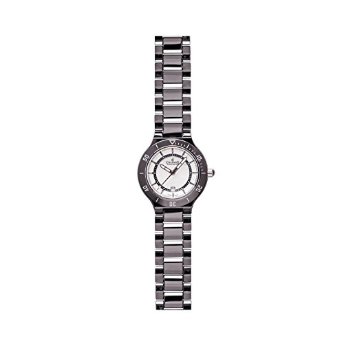 Charmex San Remo 6320 43mm Ceramic Case Black Ceramic Synthetic Sapphire Women's Watch