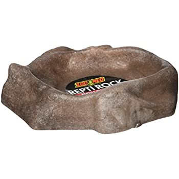 X-Small Zoo Med Repti Rock Reptile Water Dish for Fish