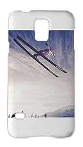 Amazing Ski Jumping-Wide Samsung Galaxy S5 Plastic Case