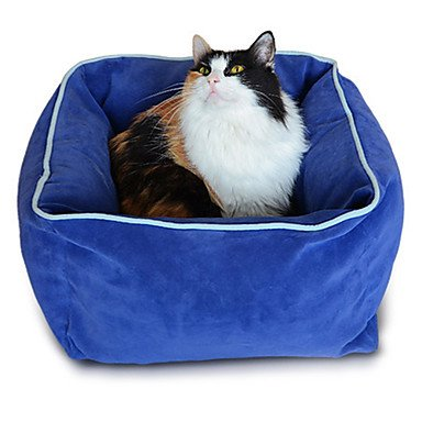 Quick shopping Kitty Nice Sleep Soft Cuboid Warm Cushion Bed for Pets Cats