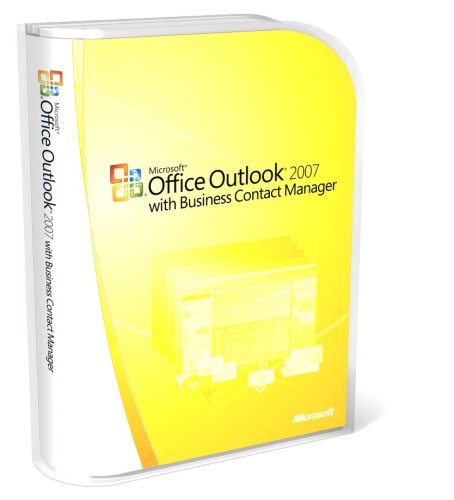 Microsoft Office Outlook 2007 with Business Contact Manager [Old Version] by Microsoft