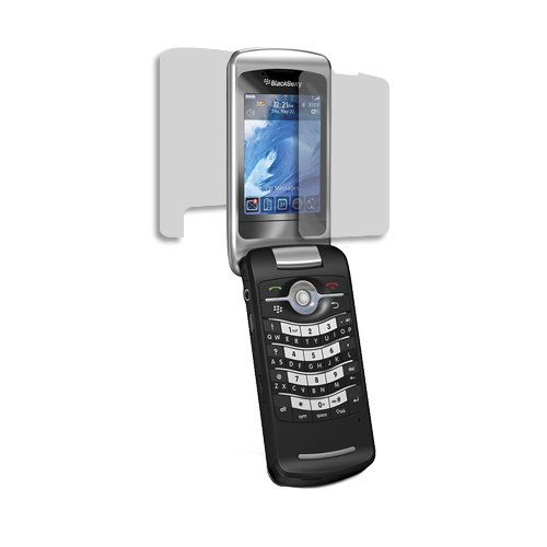 BlackBerry Pearl Flip 8220 Screen Protector, Skinomi TechSkin Full Coverage Screen Protector for BlackBerry Pearl Flip 8220 Clear HD Anti-Bubble Film Blackberry 8220 Screen Protector