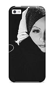 Premium Greta Garbo People Women Back Cover Snap On Case For Iphone 5c