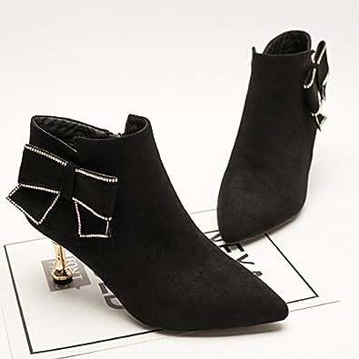 Amazon.com | HOESCZS Boots Women's New Short Boots Women's