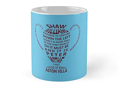 aston villa european cup 1982 alternative 11oz Mug - Best gift for family friends