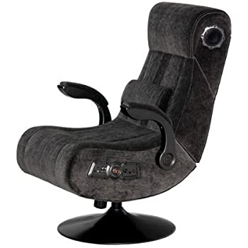 PC Gaming Chair, Wireless Bluetooth Audio, Color Charcoal