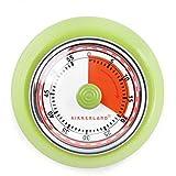 Kikkerland KT051-G Magnetic Kitchen Timer, Green