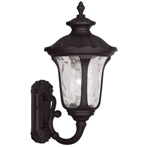 Livex Lighting 7852-07 Oxford 1 Light Outdoor Wall Lantern, Bronze