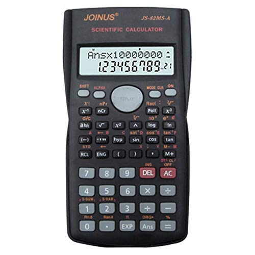 Multifunctional Scientific 2 Line LCD Display Calculator Por
