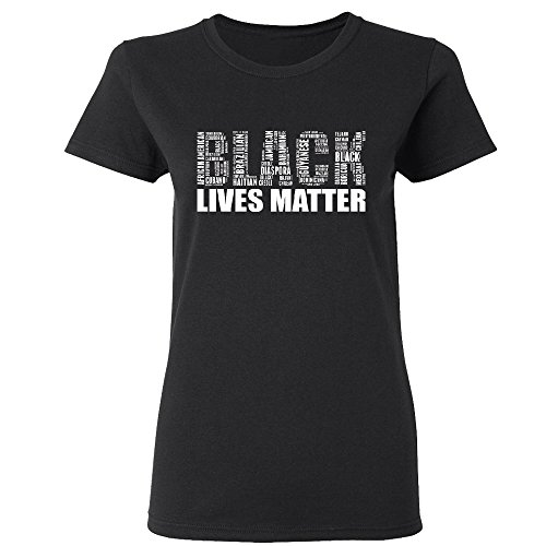 Hawain Outfit (Amazing Items Black Lives Matter From All Over The World Civil Rights Women's T-Shirt, 2X-Large, Black)