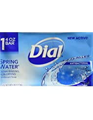 Dial All Day Freshness Spring Water Bar Soap, 4 ounces...