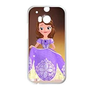 Sofia the First Once Upon a Princess HTC One M8 Cell Phone Case White Phone cover Q3263076