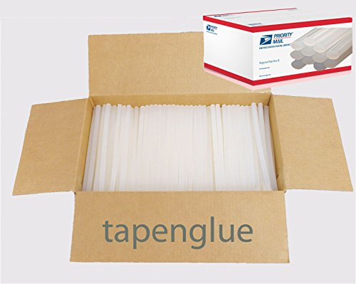 WHOLESALE Tapenglue economy Hot Melt Glue Sticks 7/16'' X 10'' 25 lbs bulk by tapenglue