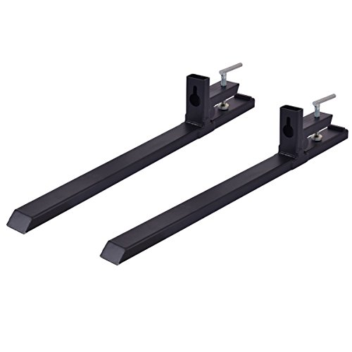 Goplus Clamp On Pallet Forks 4000lbs Capacity 43