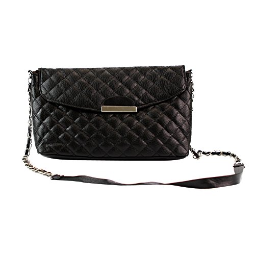 Fashion Story Women Shoulder Bag Clutch Quilting Handbag Purse Hobo Messenger (Black) ()
