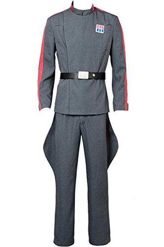 CosplaySky Star Wars Costume Imperial 181st Tie Fighter Wing Pilot Officer Uniform X-Large
