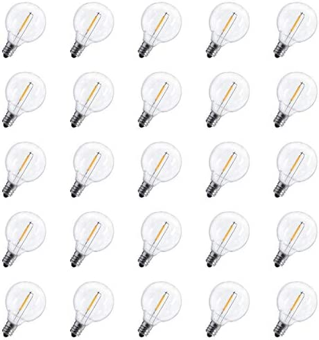 25 Pack Replacement String Lights Equivalent product image