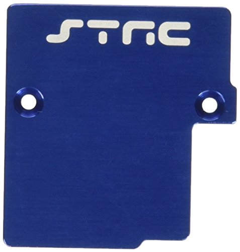 ST Racing Concepts ST6877B Aluminum Electronics Mounting Plate for Slash 4 x 4, Blue