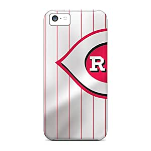 Perfect Hard Cell-phone Cases For Iphone 5c (yzV3563KUhw) Customized Nice Cincinnati Reds Image