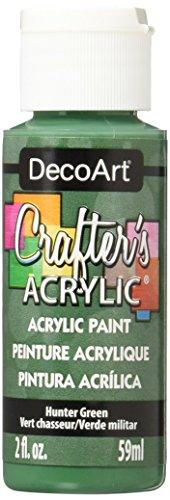 DecoArt Crafter's Acrylic Paint, 2-Ounce, Hunter Green