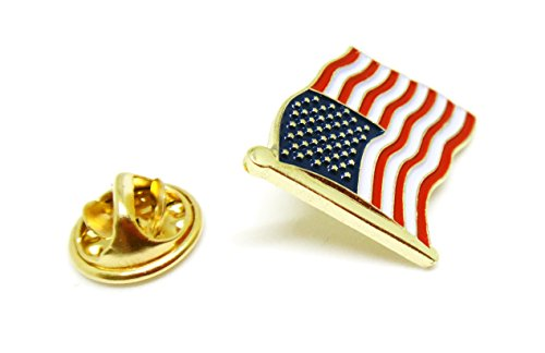 - US Flag Proudy Patriotic American Standard Official Lapel Pin