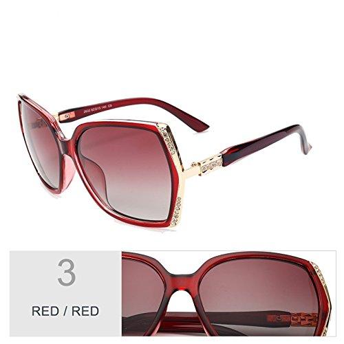 Gafas Blanco Gafas TIANLIANG04 Mariposa Mujer De Sol Mujer Uv400 Trajes Gafas Polarizadas Estilo Sol Hd Red Gafas De wxnRqUA6aw