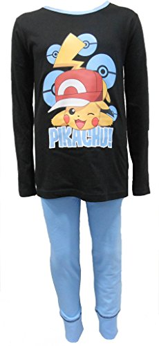Price comparison product image TDP Textiles Pokemon Cool Pikachu Girls Pajamas 5-6 Years