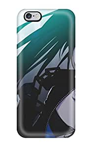 New Fashion Premium Tpu Case Cover For Iphone 6 Plus - Black Rock Shooter 5849856K13034796