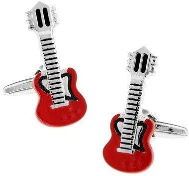 UYY Gemelos Camisa Gemelos de Guitarra roja para Hombres ...