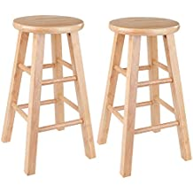"""Winsome Wood 83224 Pacey Stool, 24"""", Natural"""
