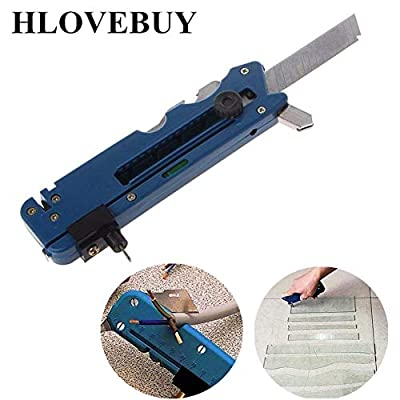 Professional Multifunction Glass Cutter Six Wheel Metal Cutting Tool with Measuring Ruler,Multifunction Glass & Tile Cutter