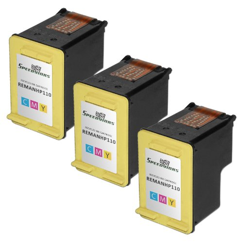Speedy Inks - 3PK Remanufactured replacement for HP 110 C...