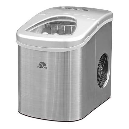 Igloo ICEB26BK 26-Pound Automatic Portable Countertop Ice Maker Machine, Black Nostalgia