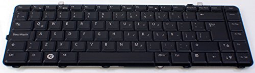 New Dell Studio (New OEM DELL Studio 1535 1536 1537 Laptop Keyboard Teclado D796C NSK-DC11E Latin Spanish Backlight Light Lite Backlit Replacement Key Keypad)
