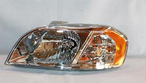 OE Replacement Headlight CHEVROLET AVEO SEDAN 2007-2008 Partslink GM2502273 Multiple Manufacturers GM2502273C