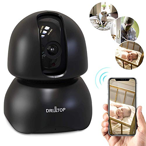 [Newest 2019] Wireless IP Surveillance Camera w/Night Vision - Baby Monitor or Security Camera - 1080p, Activity Detection - 2 Way Audio - Remote Monitor with iOS, Android App - Cloud Service Avail