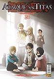 capa de Ataque dos Titãs - Volume 24