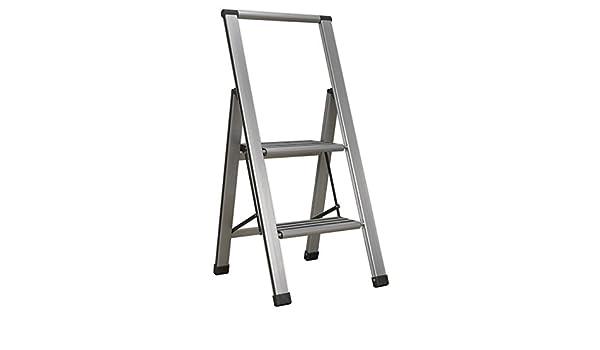 Sealey APSL2 2-Step 150 kg capacidad profesional de aluminio escalera plegable: Amazon.es: Bricolaje y herramientas