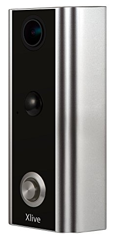 (Xlive Video Doorbell Camera (Existing Doorbell Wire Required)- for iOS and Android Smartphone or Tablet, lag-Free and Superior Audio/Video Quality, Cloud Video Recording,Low Temperature Resistance)