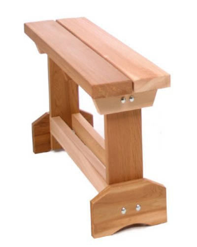 All Things Cedar Picnic Table End Bench, 3'