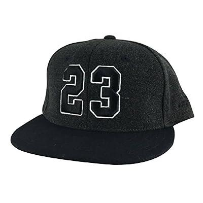 Number #23 Melton White Outline Black Visor Snapback Hat Cap X Air Jordan